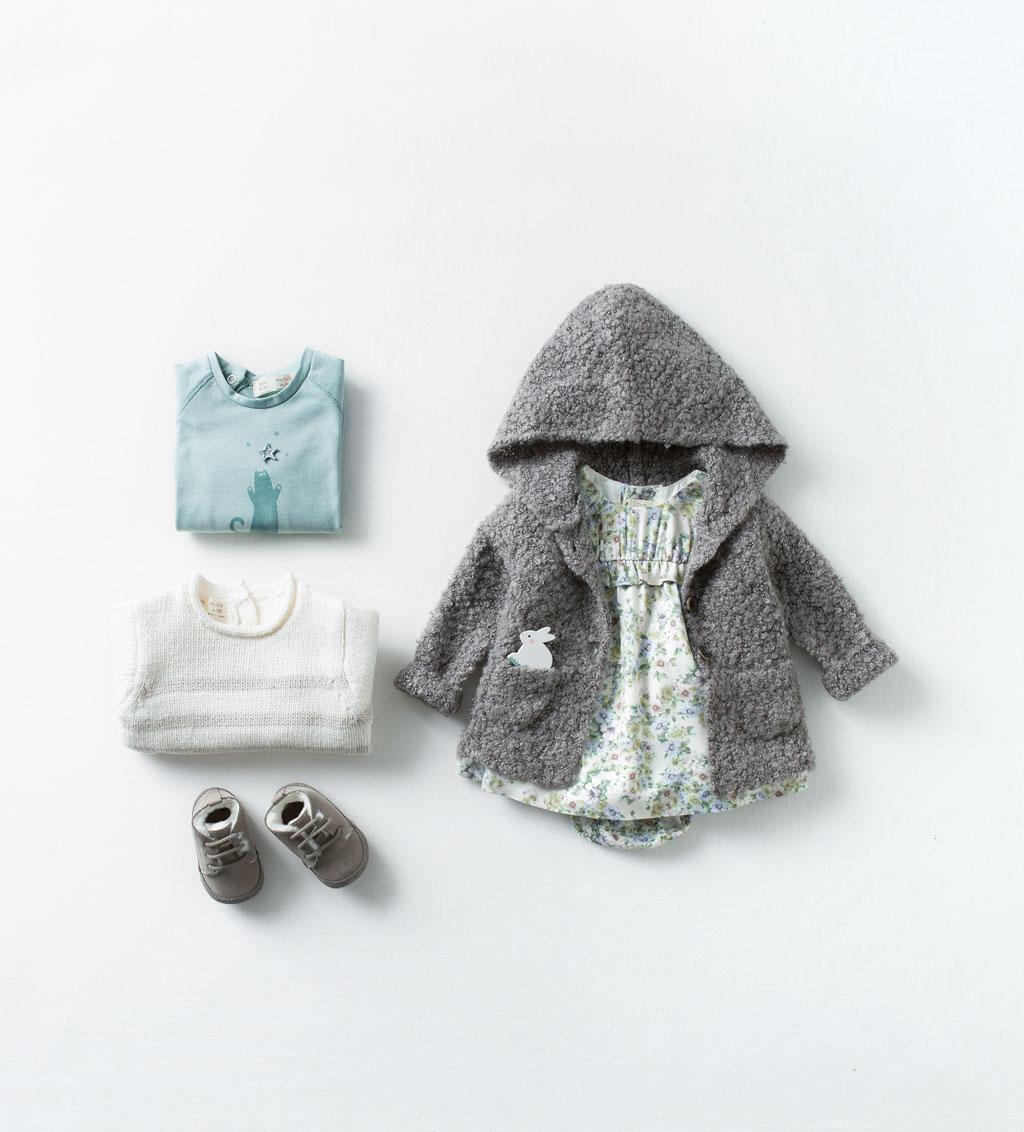 Catálogo bebé Zara - Vestidito azul