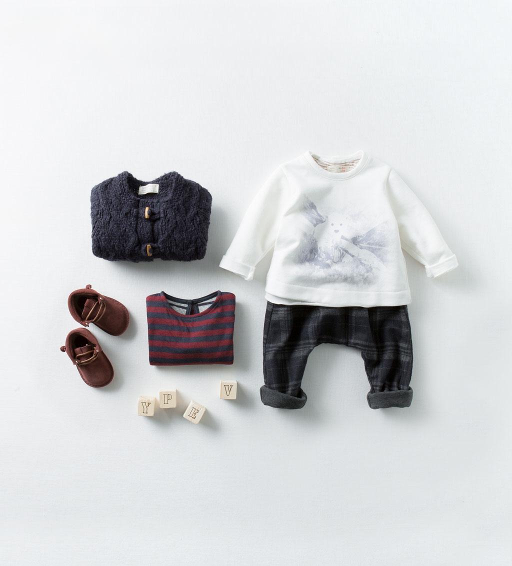 Catálogo bebé Zara - Camiseta osito