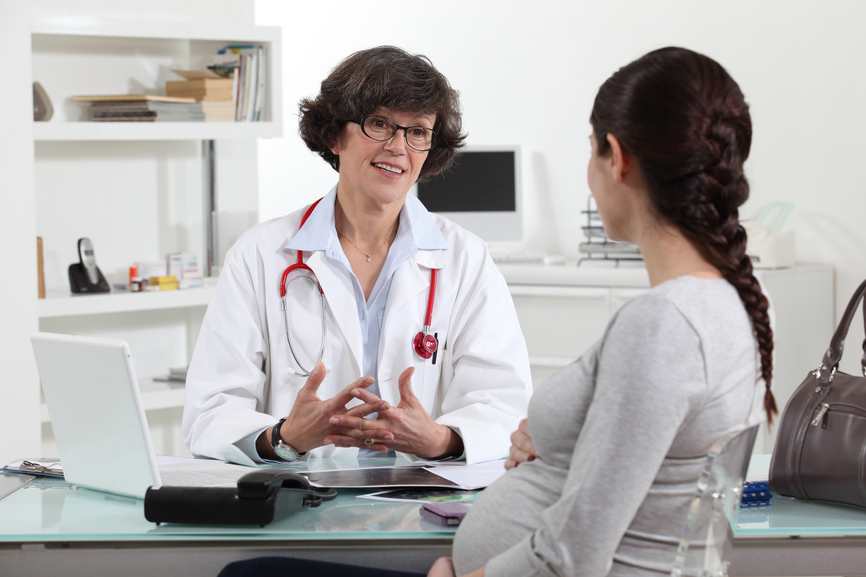 Embarazo a partir de los 35 - Consulta médica