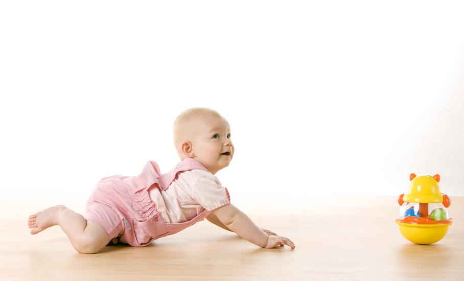 Estímulos para que el bebé gatee - Juegos y juguetes
