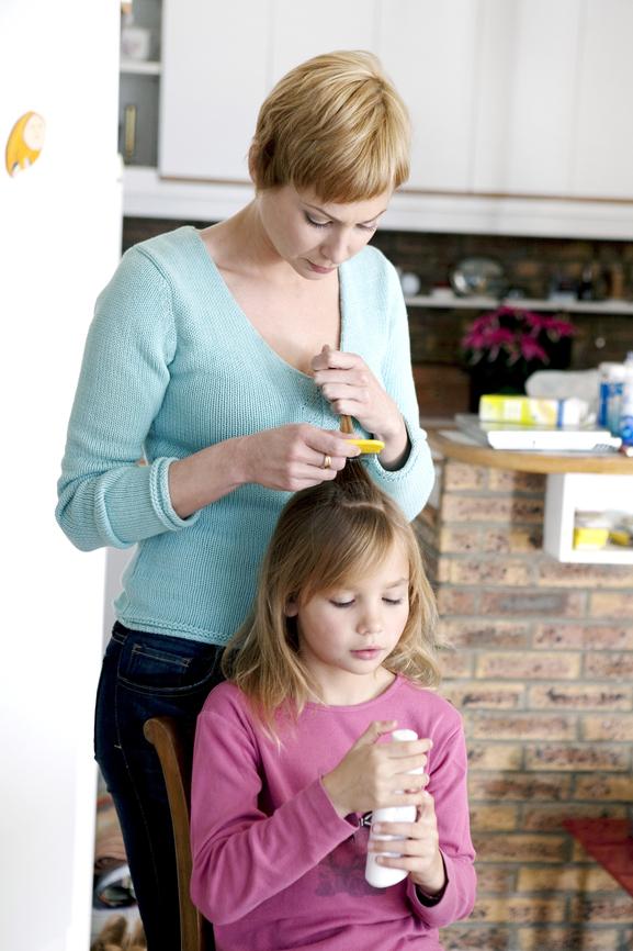 Como evitar el contagio de piojos en el cole
