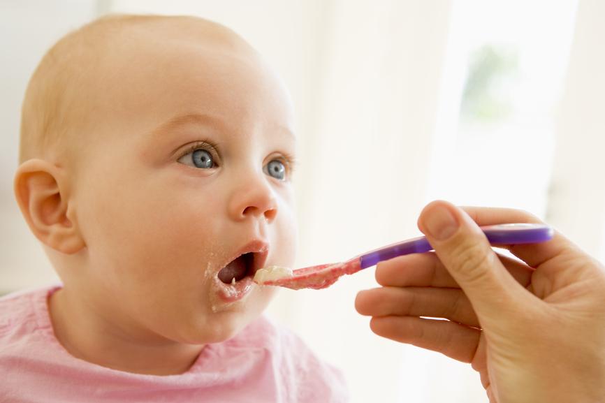 Alergia alimentaria en bebés